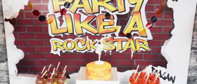 Graffiti Style Birthday Party