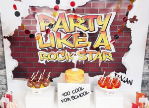 Concept Designs Party Printables Graffiti Style Party