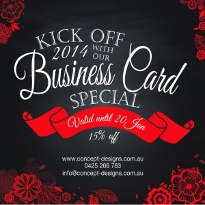 Gold Coast Graphic Design Business Cards
