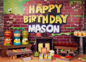 Concept Designs Party Printables Masons Birthday Party 8 300x218 - Trash Pack Birthday Party
