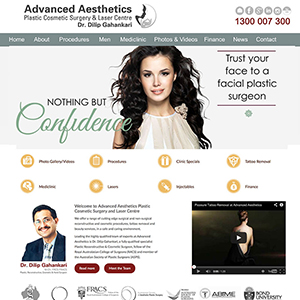 Concept Website Designs and Marketing Gold Coast Web Design Advanced Aesthetics website design - Gallery 14
