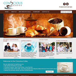 Concept Website Designs and Marketing Gold Coast Web Design Conscious Cafe Website Design - Gallery 12