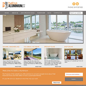Concept Website Designs and Marketing Gold Coast Web Design Datco Aluminium Website Design - Gallery 11