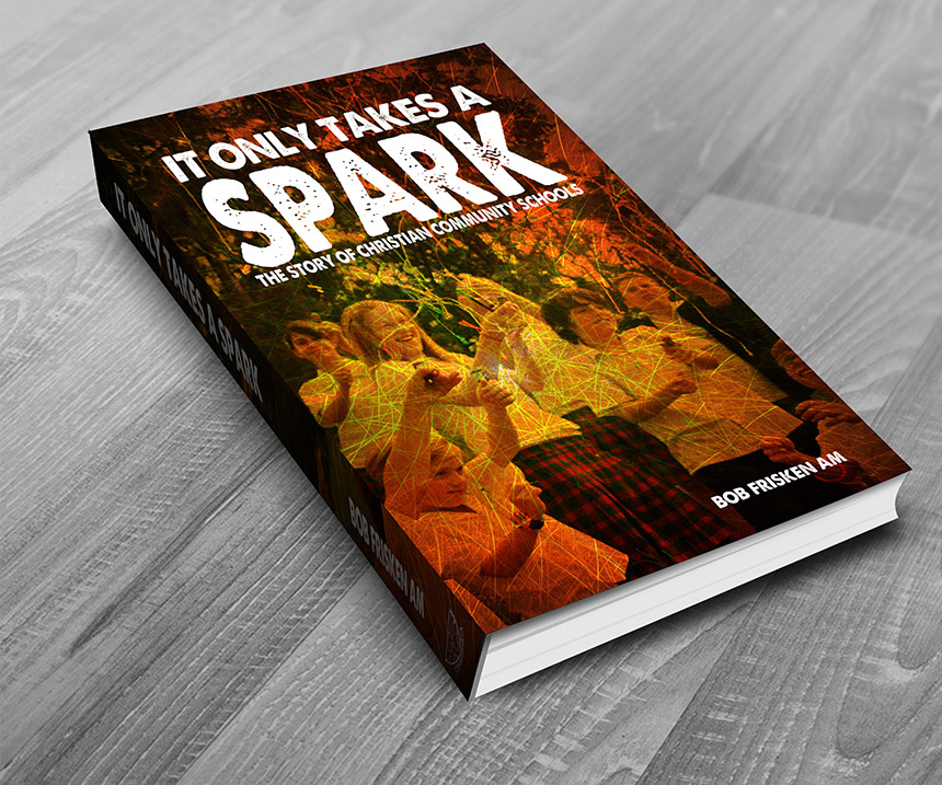 Concept Graphic Deaign and Marketing Gold Coast Book Design It only takes a spark - Book design and layouts Portfolio