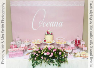 Concept Designs Party Printables Girl Christening 1