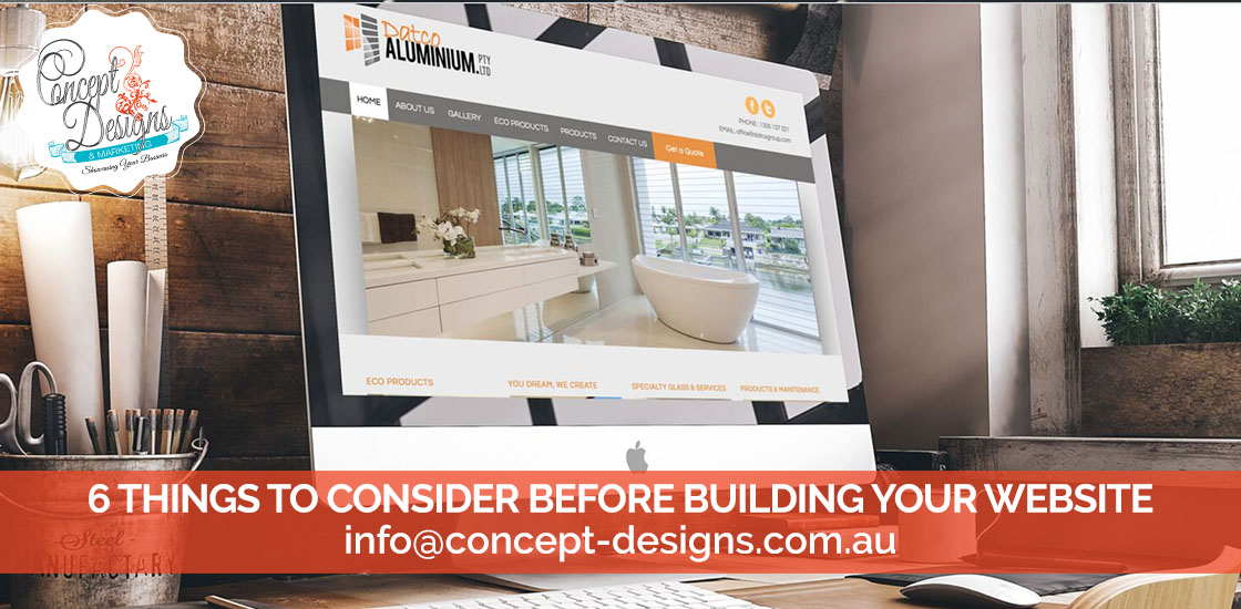 6 Things to consider before building your website