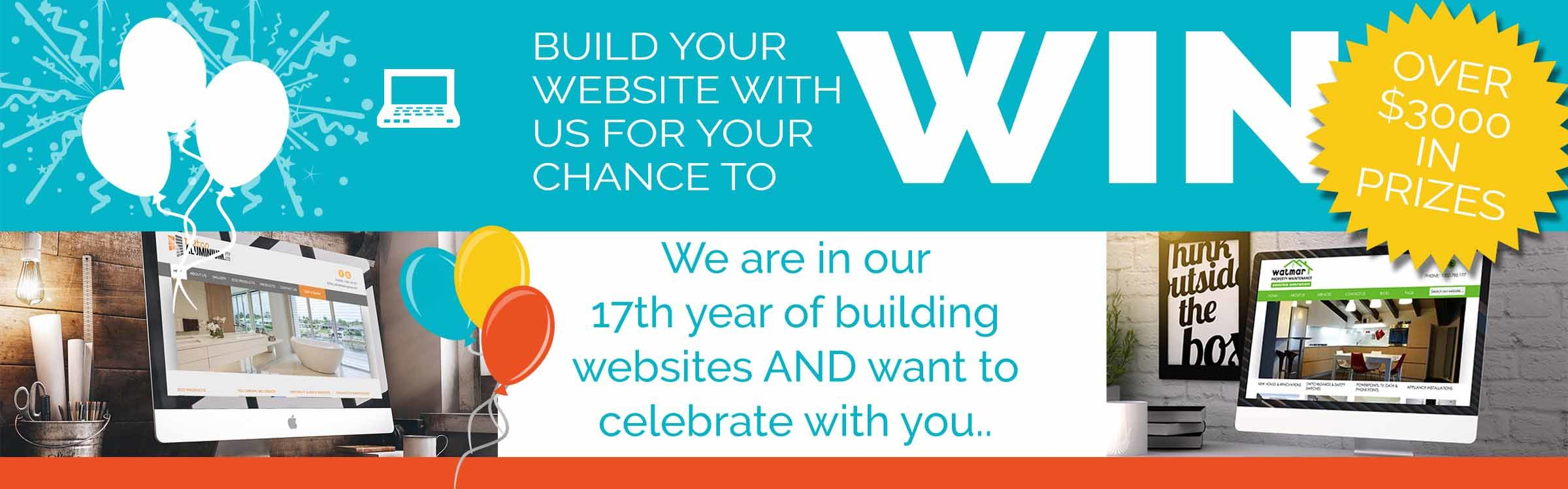 Website Header Concept Website Competition 2400x750 - Build your website with us to WIN!!