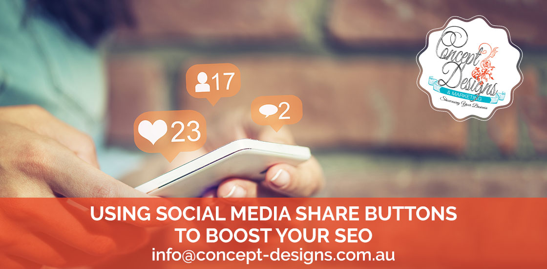 Using Social Media Buttons To Boost YourSeo