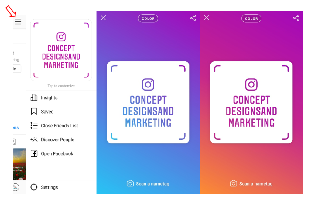CD instagram blog 1 1024x664 - Attract More Followers with Instagram Nametags