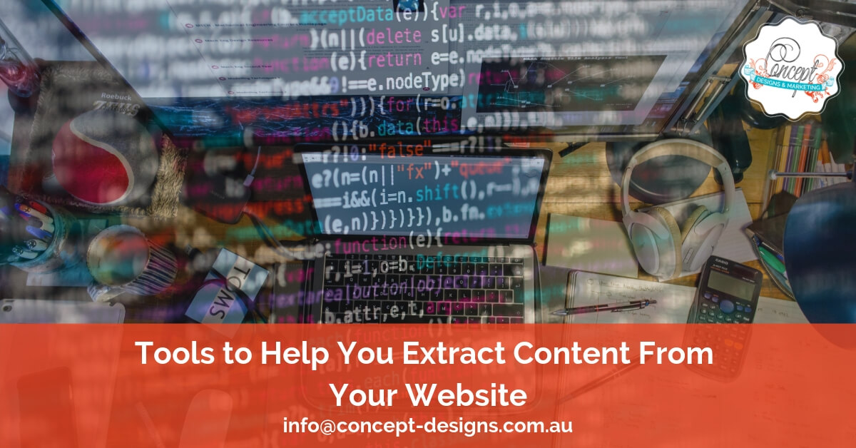 Tools to Help You Extract Content From Your Website