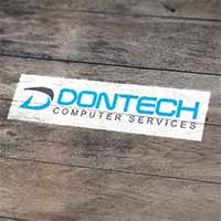 Dontech Computer Services Logo design by Concept Designs and Marketing
