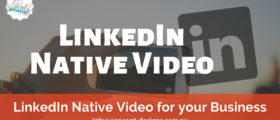 LinkedIn Native Video 280x120 - LinkedIn Native Video For Your Business