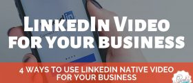 4 Ways to Use LinkedIn Native Video for Your Business 280x120 - 4 Ways to Use LinkedIn Native Video for Your Business
