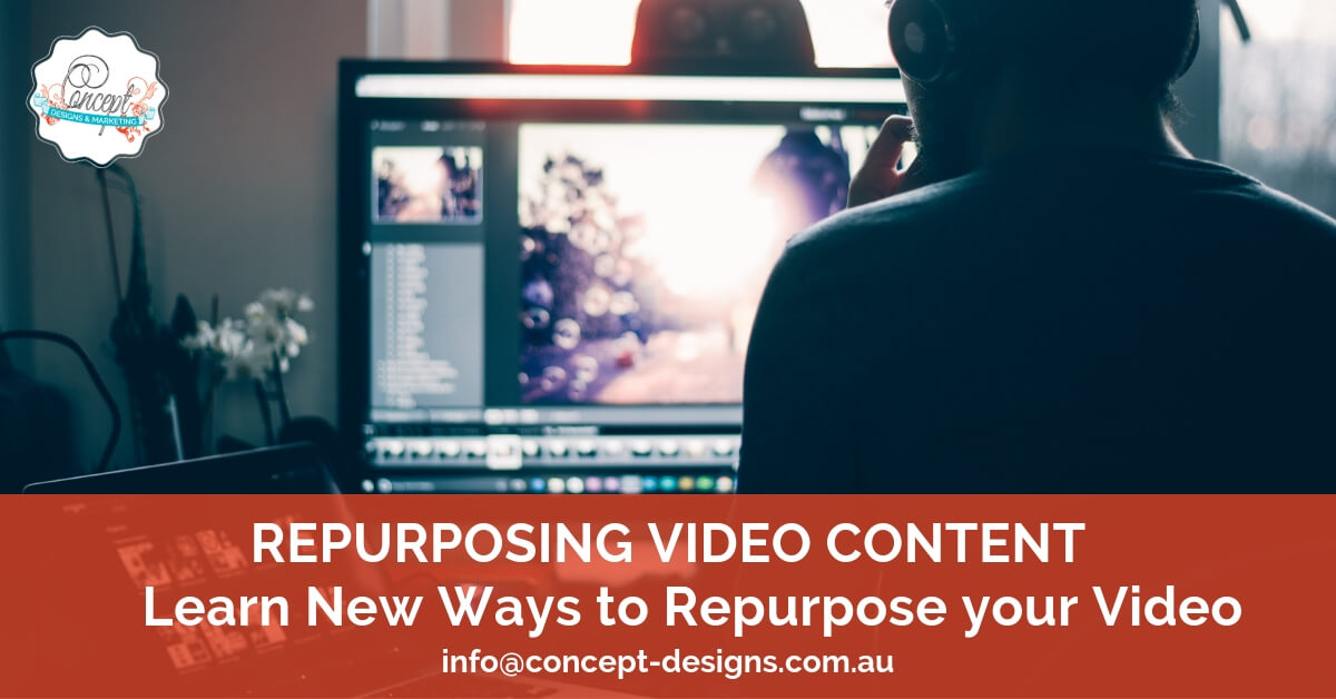 How to Repurpose Video Content across many platforms and into many forms of Valuable Content
