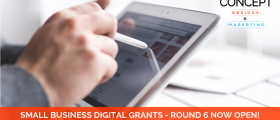 Blog FB Ad Size 5 280x120 - Round 6 of the Small Business Digital Grants is Now Open!