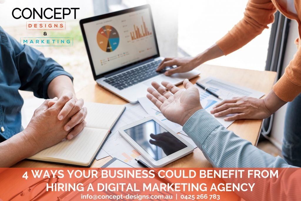 Concept Designs Marketing Digital Marketing Agency Northern Beaches Sydney 1024x683 - 4 Ways Your Business Could Benefit From Engaging A Digital Marketing Agency On Sydney's Northern Beaches