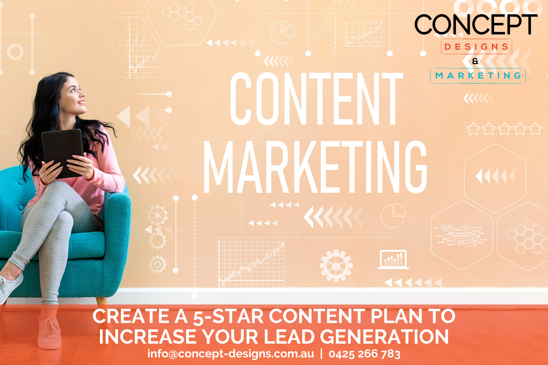 Create A 5‑Star Content Plan To Increase Your Lead Generation